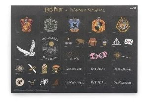 Planner Semanal - Harry Potter - Ludi