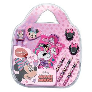 Kit Escolar - Minnie Mouse - Molin