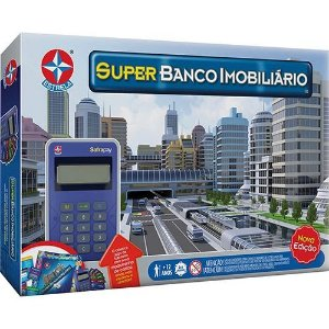 Jogo Super Banco Imobiliário - com Cartão de Crédito - Estrela