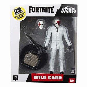 Figura de Ação - Wild Card - Fortnite - Fun