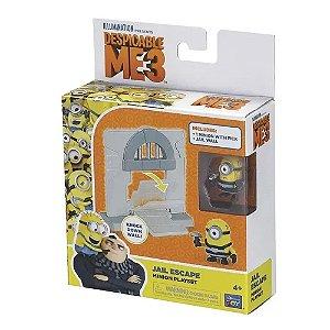 Playset Minions - Fuga da Prisão - Stuart - Zein