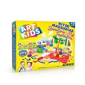 Kit de Massinhas - Sorveteria Fantástica - Art Kids - Acrilex