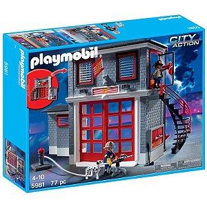 PlayMobil City Action - Estação de Bombeiros - Sunny