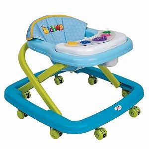 Andador Magic Baby - Azul - Magic Toys