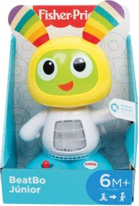 Boneco BeatBo Júnior - Amarelo - Fisher Price - Mattel