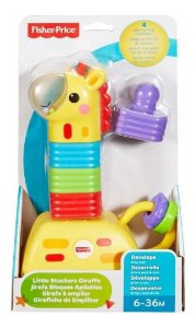 Girafinha de Empilhar Blocos - Fisher Price - Mattel