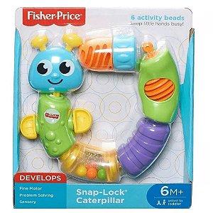 Centopeia Encaixa e Puxa - Fisher Price - Mattel