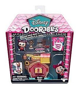 Doorables Disney - Navio Pirata do Capitão Gancho - DTC