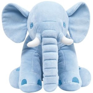 Pelúcia Elefantinho - Azul - Buba