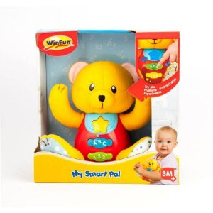 Brinquedo Pelúcia - Meu Amigo Sabichão - Ursinho - WinFun