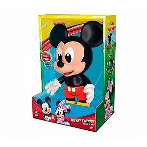 Boneco Mickey Mouse - Vinil - Baby - Lider