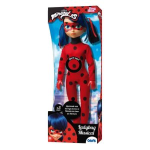 Boneca Miraculous - Ladybug Musical - 45cm - Baby Brink