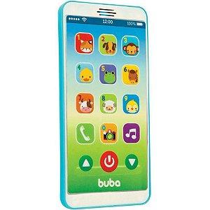 Baby Phone - Celular Infantil - Azul - Buba