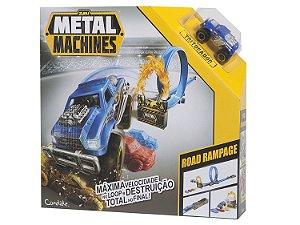 Pista Metal Machines - Road Rampage - Candide