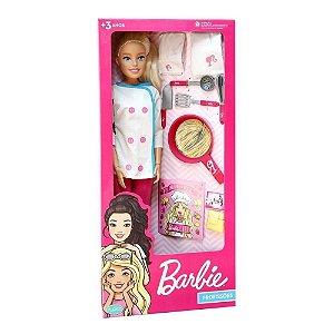 Boneca Barbie - Chef de Cozinha - Pupee