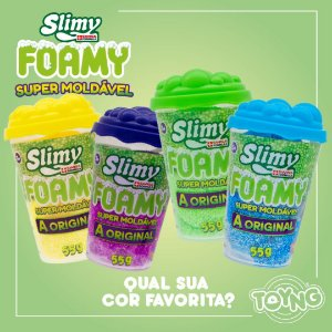 Slimy Foamy - Super Moldável - Toyng
