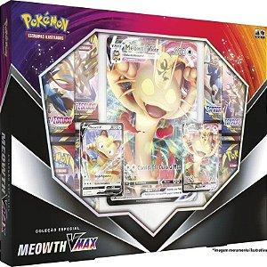 Pokémon - Coleção Especial - Meowth Vmax - Copag