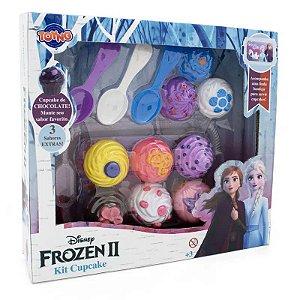 Brinquedo Kit Cupcake - Frozen II - 8 Peças - Toyng