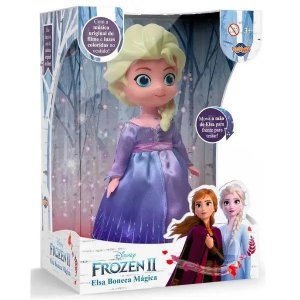 Boneca Mágica Elsa - Musical - Frozen II - Toyng