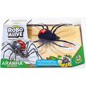 Robô Alive - Aranha Eletrônica com Movimento - Candide