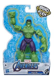 Boneco Hulk - Bend and Flex - Marvel - Hasbro