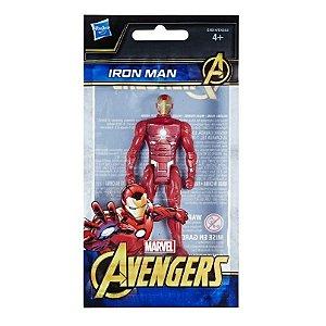 Mini Boneco Homem de Ferro - 10 cm - Avengers - Marvel - Hasbro