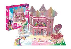 Playset Barbie - Reino Dreamtopia - 70 Peças - Xalingo