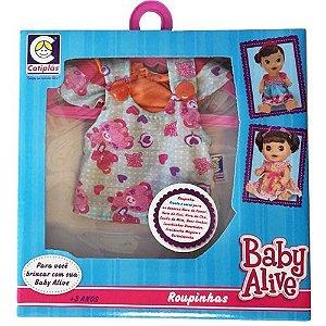 Roupinha Baby Alive - Blusa e Calcinha - Cotiplás