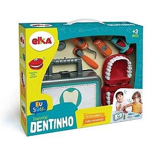 Kit Maleta e acessórios - Doutor Dentinho - Elka