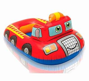 Boia Baby Bote - Kiddie Bombeiro - 74cmX58cm - Intex
