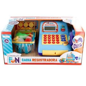 Caixa Registradora - Creative Fun - Infantil - Azul - Multikids