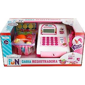 Caixa Registradora - Creative Fun - Infantil - Rosa - Multikids