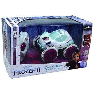 Carrinho de controle Remoto - Frozen II Giro Gelado - Candide