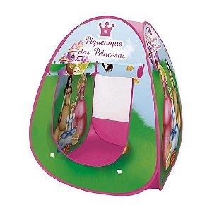 Barraca Dobrável Infantil - Piquenique das Princesas - DM Toys