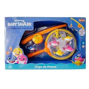 Kit Pesca - Pescando com o Baby Shark - Pinkfong - Toyng