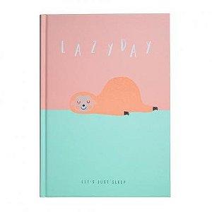 Caderno Brochura Pautado - Bicho Preguiça - A5 80g - 80 Folhas - Bee Unique