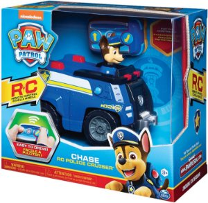 Carro de Polícia com Controle Remoto - Chase - Patrulha Canina - Sunny