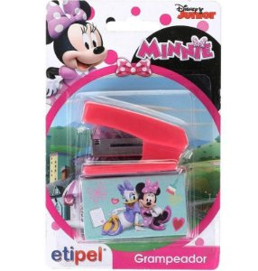 Grampeador Mini - Minnie Mouse - 26/6 - Etipel
