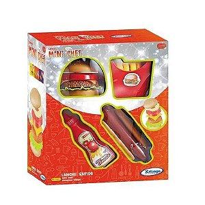 Kit Fast Food - Mini Chef - Xalingo