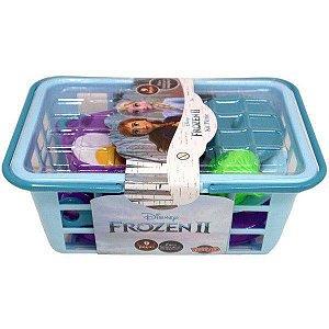 Kit Cestinha Picnic - Frozen II - 9 Peças - Toyng