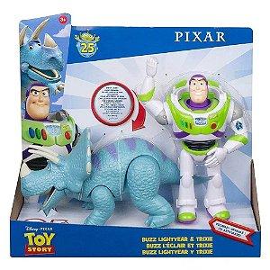 Boneco Buzz Lightyear E Trixie - Toy Story 4 - Mattel