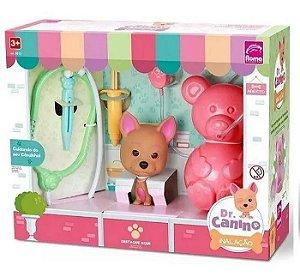 Kit Médico - Doutor Canino - Inalação - Roma Brinquedos