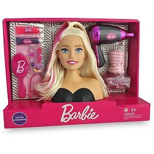 Busto da Boneca Barbie - Styling Hair - com Secador - Pupee