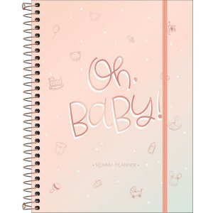 Mommy Planner - Oh Baby - 80 Folhas - Tilibra