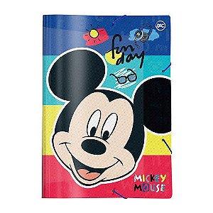 Pasta Aba Elástica - Mickey Mouse - Ofício - DAC