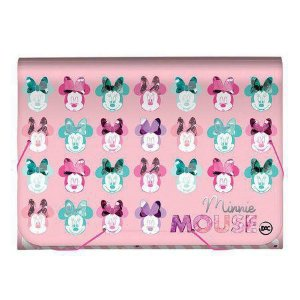 Pasta Sanfonada A4 - Minnie Mouse - 12 Divisórias - Dac