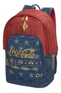 Mochila de Costas - Coca-Cola - Stars - Pacific