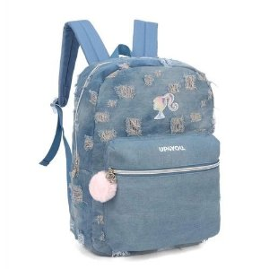 Mochila de Costas - Barbie - Jeans - Up4You