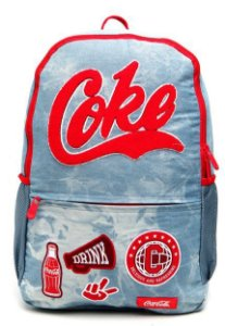 Mochila de Costas - Coca-Cola - Team Spirit - Pacific