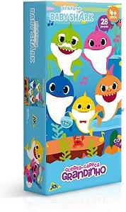 Quebra-cabeça Grandinho - Baby Shark - Toyster